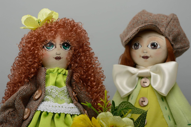 куклы ручной работы из ткани фото того как суфле