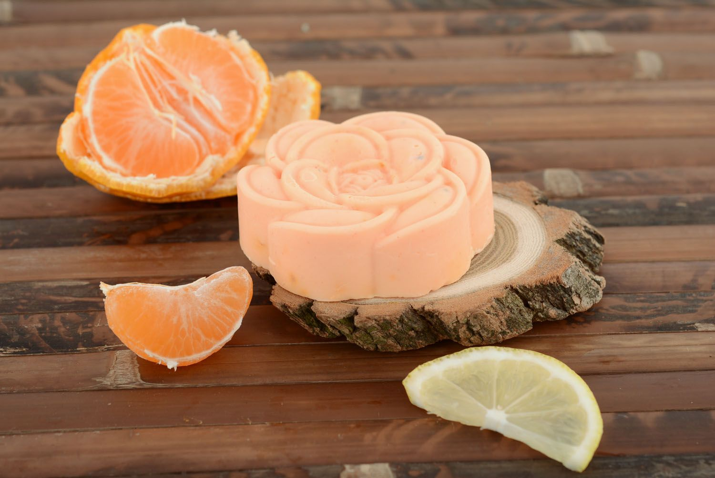 Orange soap photo 4