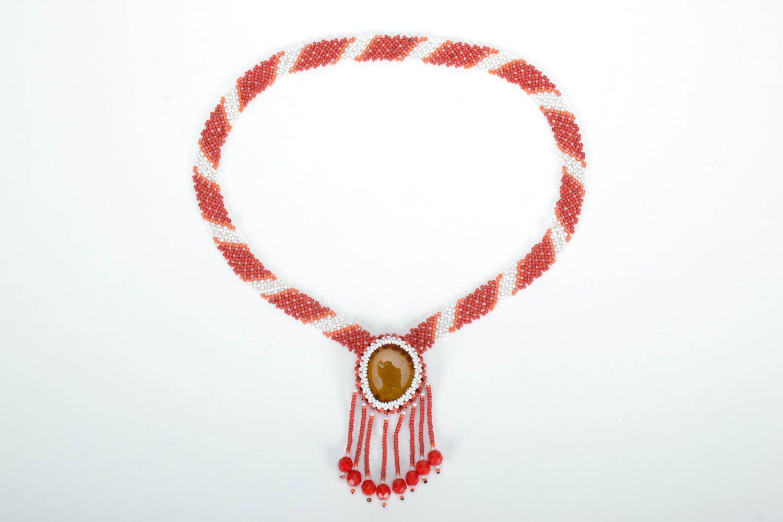 Bead necklace Sun photo 2