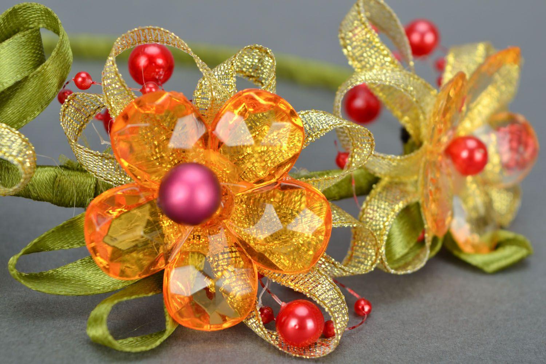 Organza headband photo 4