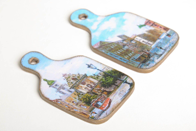Handmade fridge magnet designer kitchen decor home ideas decorative use only photo 5