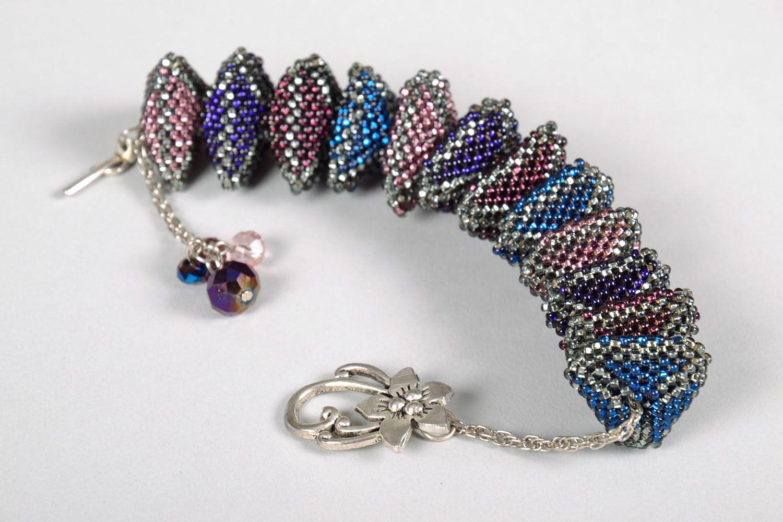 Unusual beaded bracelet photo 2