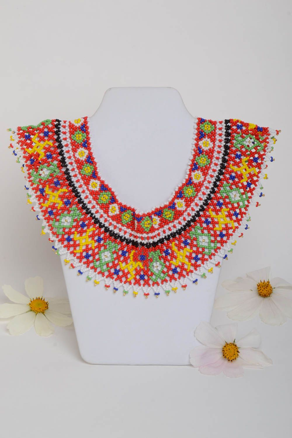 Beaded necklace handmade jewelry fashion necklaces for women designer jewelry photo 1