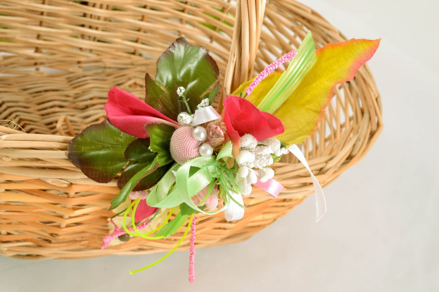 Boutonniere for Easter basket photo 1