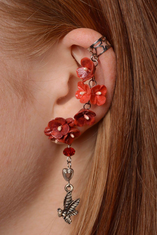 Cuff earrings Bees photo 3
