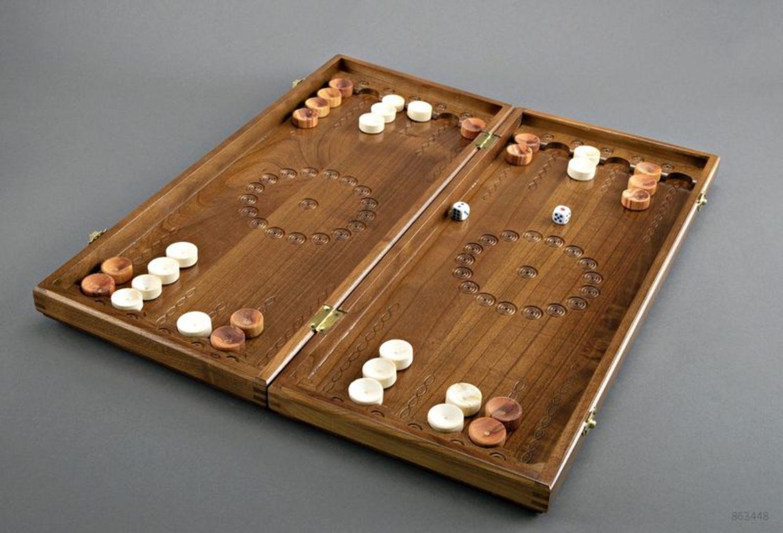 Handmade wooden backgammons photo 3