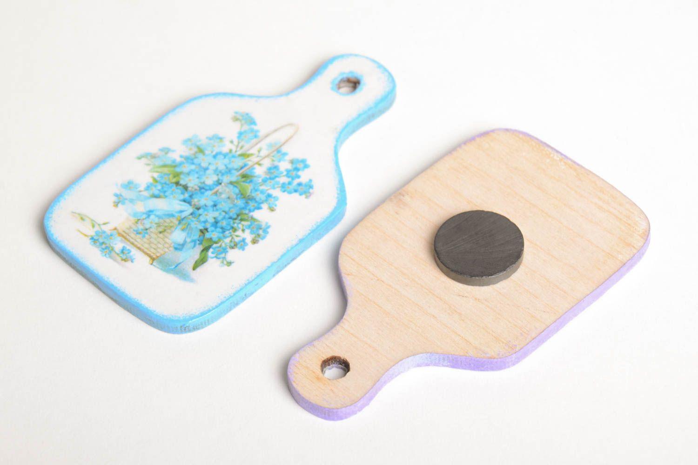 Handmade fridge magnet 2 pieces kitchen supplies modern kitchen for decor only photo 3