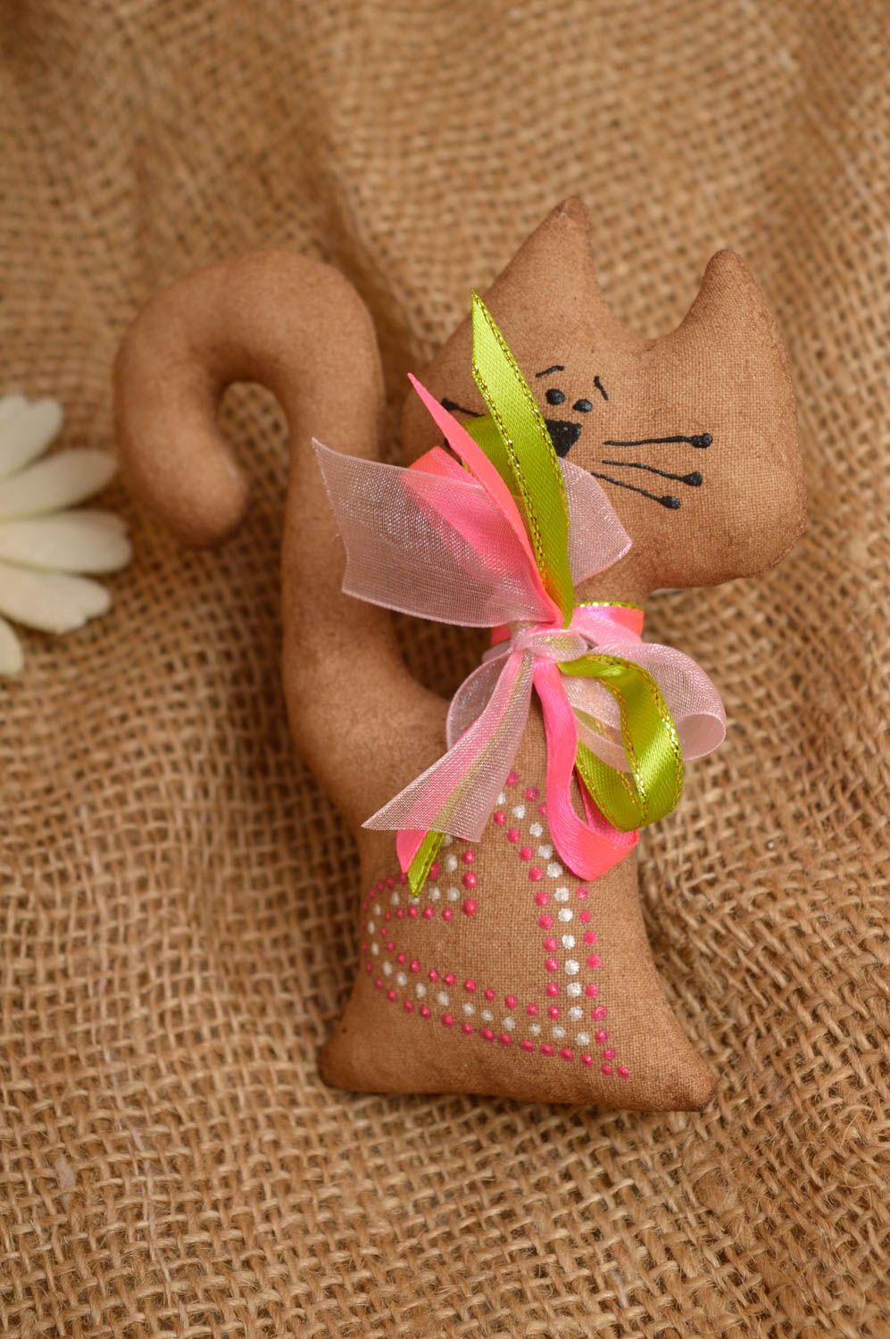 Homemade soft toy fridge magnet for decorative use only kitchen decor  photo 1