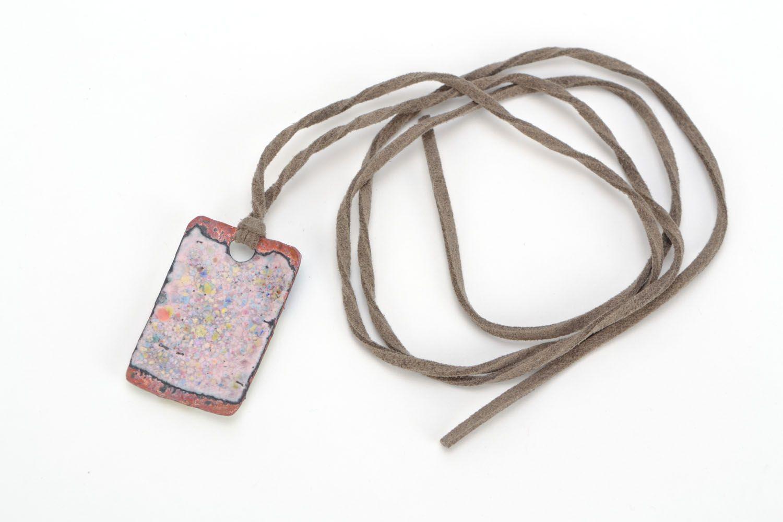 Handmade pendant Mondrian photo 4