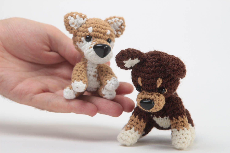 Игрушки мягкие собачки маленькие