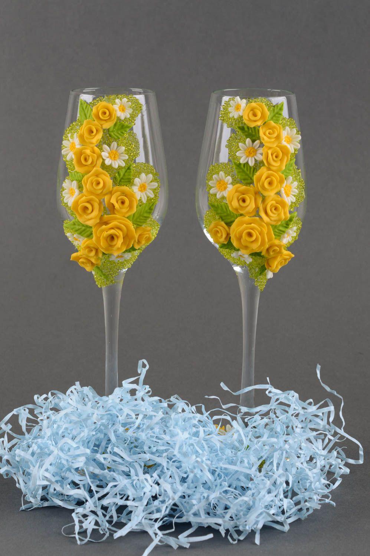 madeheart handmade gl ser set sektgl ser zur hochzeit geschirr aus glas champagner gl ser. Black Bedroom Furniture Sets. Home Design Ideas