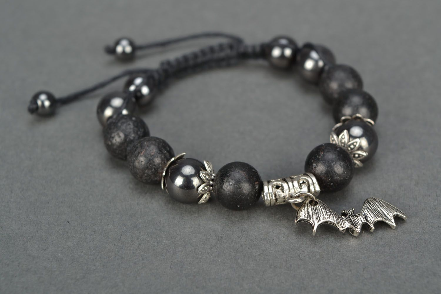 Women's volcanic lava bracelet  photo 3