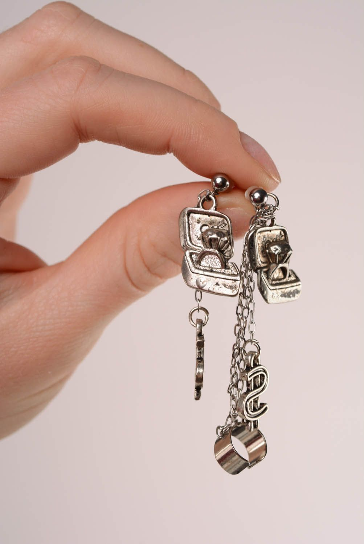 Homemade cuff earrings Proposal photo 4
