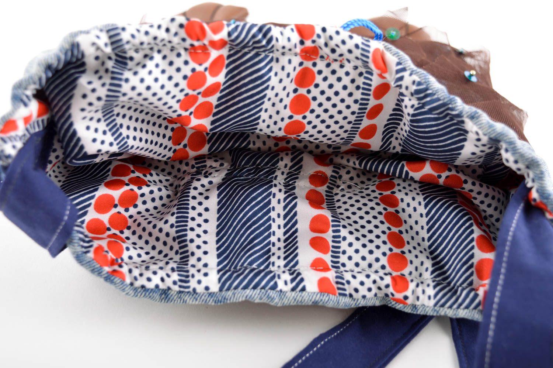 Handmade designer interesting bag unusual female shoulder bag cute bag photo 3