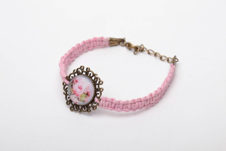 Tender vintage woven bracelet photo 2