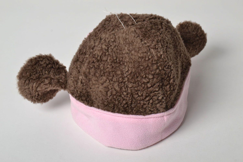 Unusual children's hat Monkey photo 4