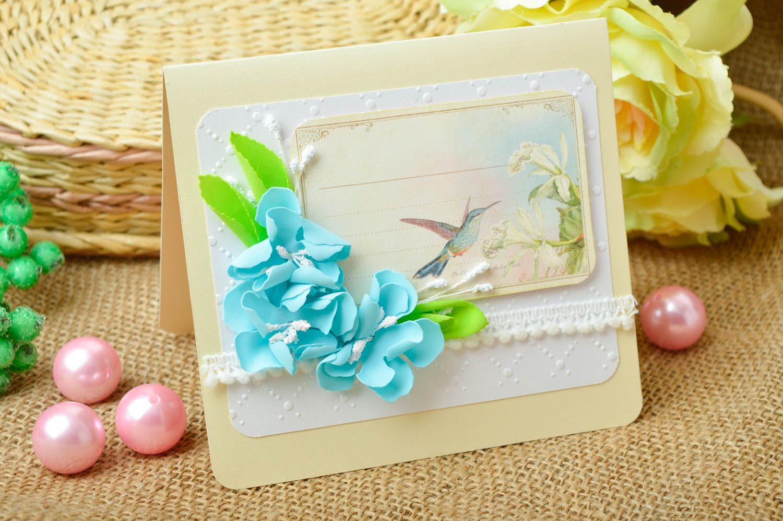 Handmade greeting card paper greeting card designer postcards souvenir ideas photo 1
