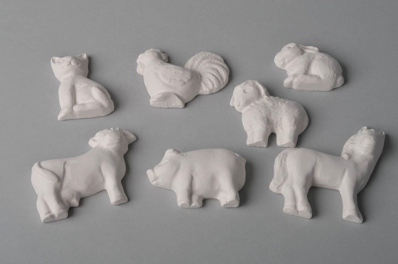 Madeheart piezas para decorar hechas a mano figuras de - Materiales para pintar ...