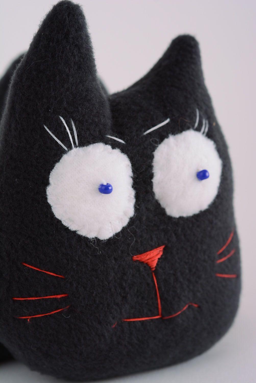Fabric fleece toy Black Cat photo 2