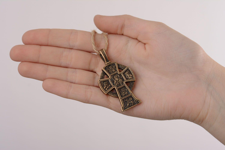 Homemade bronze cross photo 5