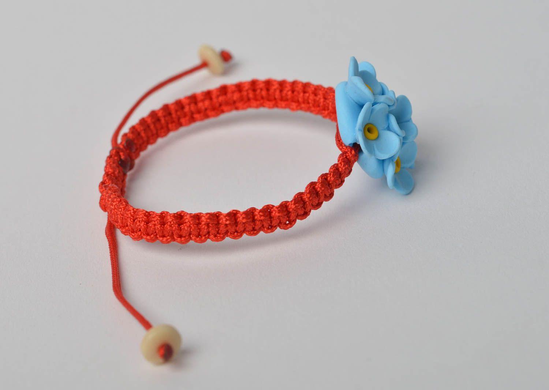 Handmade bracelet designer bracelet clay bracelet unusual jewelry gift ideas photo 4