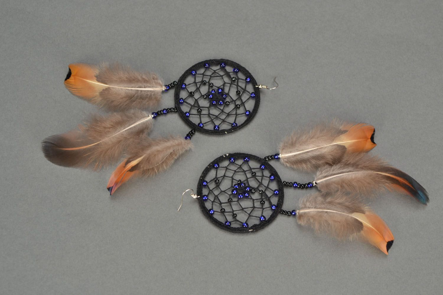 Long earrings Dreamcatcher photo 3