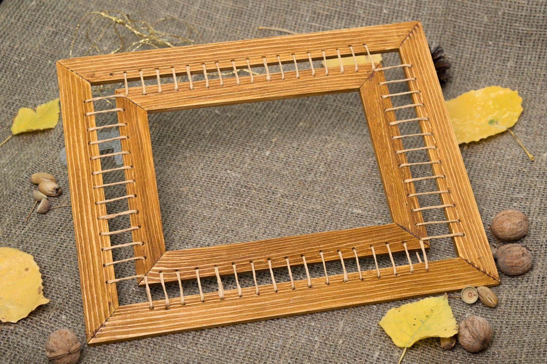 MADEHEART > Marco para foto hecho a mano de madera decoración de ...