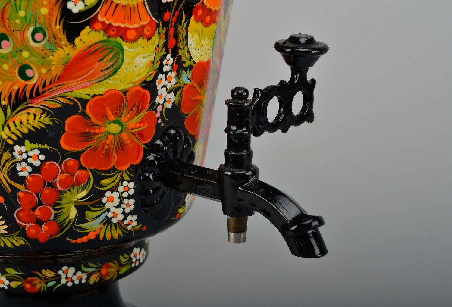 doodads for housing Electric samovar, hand painting  - MADEheart.com