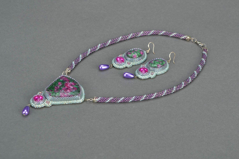 Homemade jewelry set Sultana photo 4