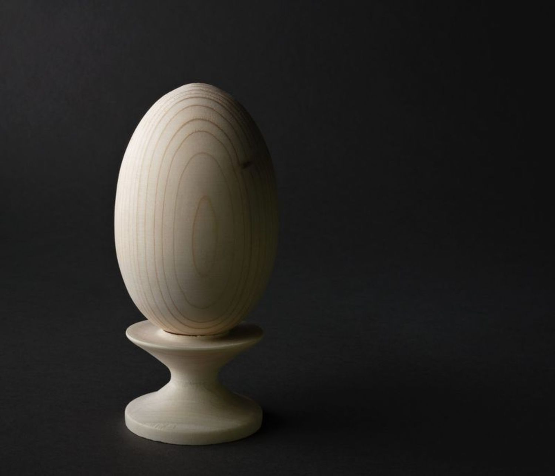 eggs for decoupage Wooden blank for pysanka - MADEheart.com