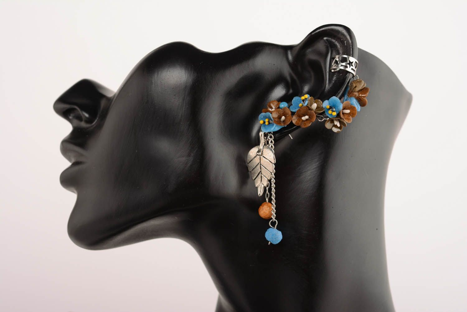 Earrings cuffs Forest Fairy Tales photo 1