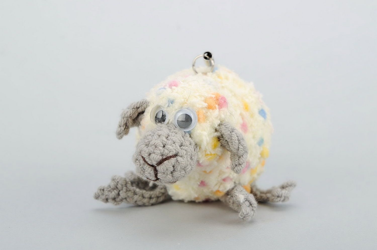 Crochet keychain Sheep photo 4