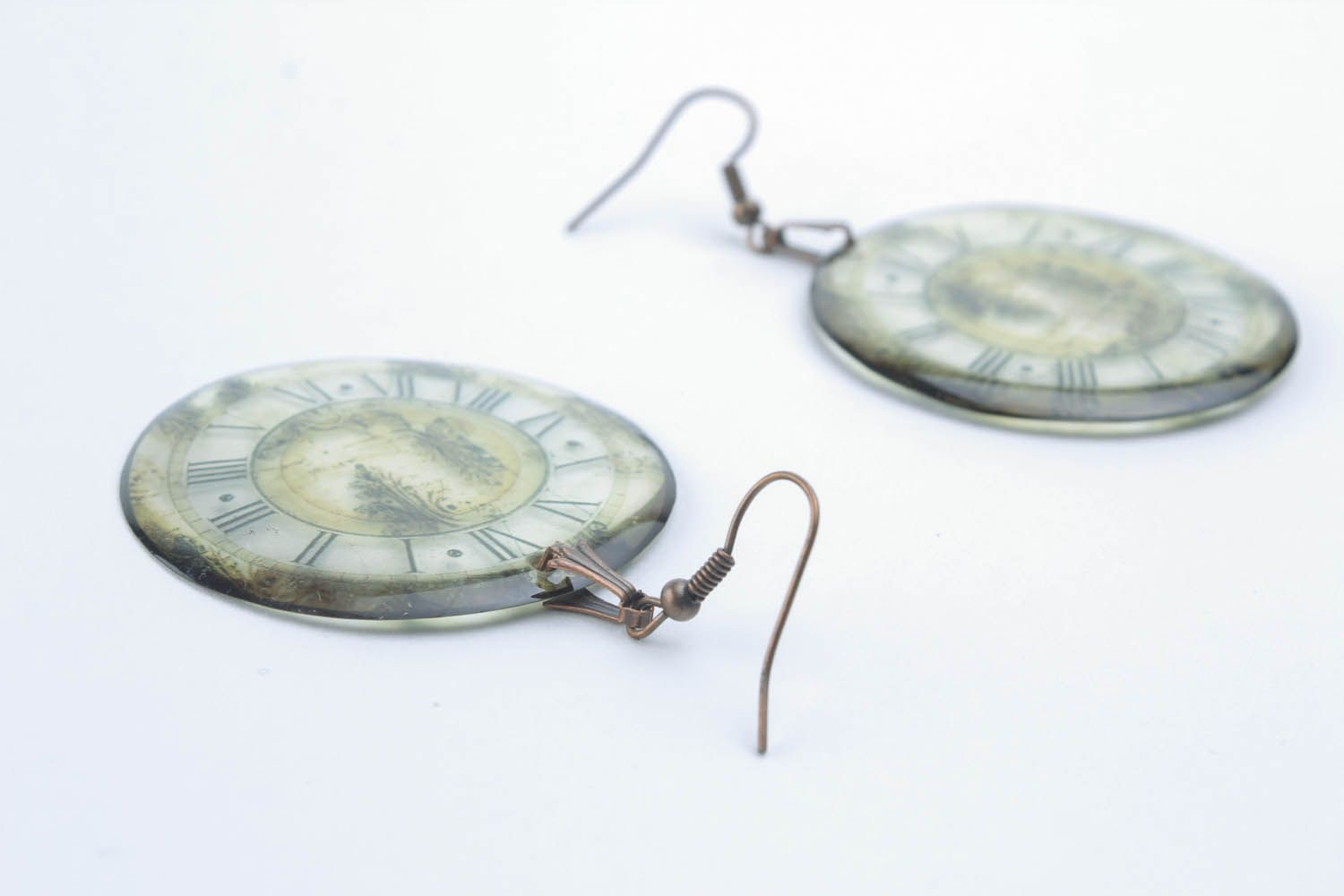 Epoxy earrings  photo 4