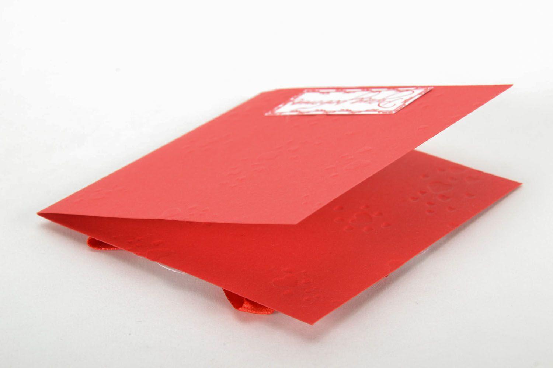 Scrapbooking postcard Openwork Heart photo 4