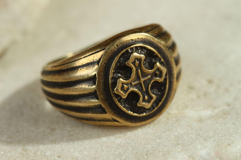 Ring aus Bronze  foto 1