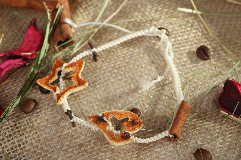 Woven friendship bracelet Spice photo 5