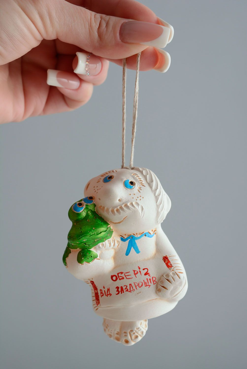 Ceramic charm bell Protection from Envious Persons photo 4