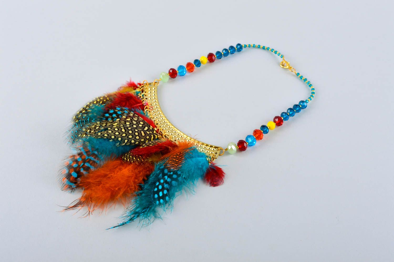 Handmade stylish jewelry elite designer accessories feminine cute present photo 4