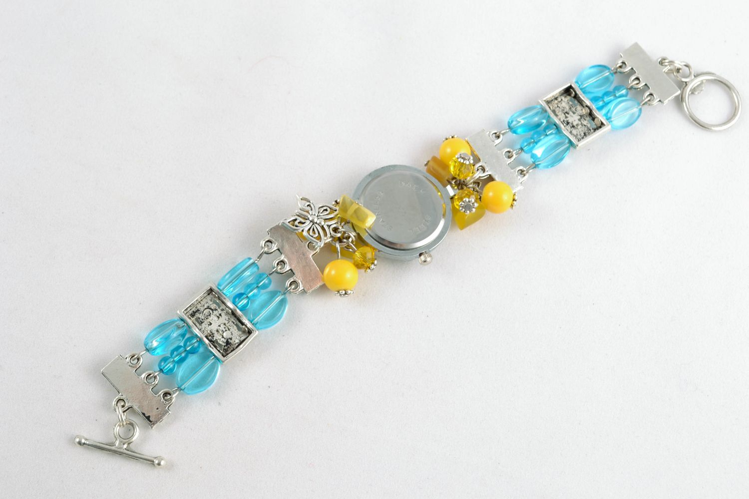 watches Wrist watch with charms - MADEheart.com