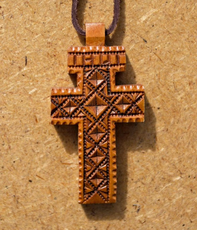 Крестик сделать своими руками