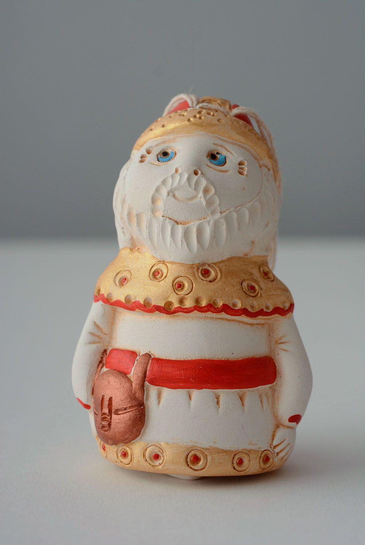 Homemade ceramic bell Kind Warrior photo 1