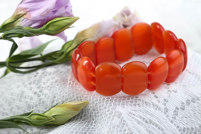 Handmade bracelet wrist bracelet fashion accessories costume jewelry gift ideas photo 1