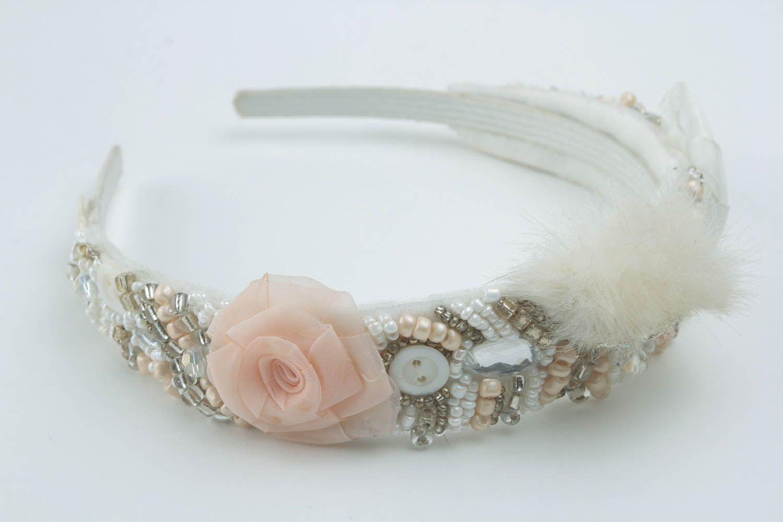 Beautiful handmade headband photo 2