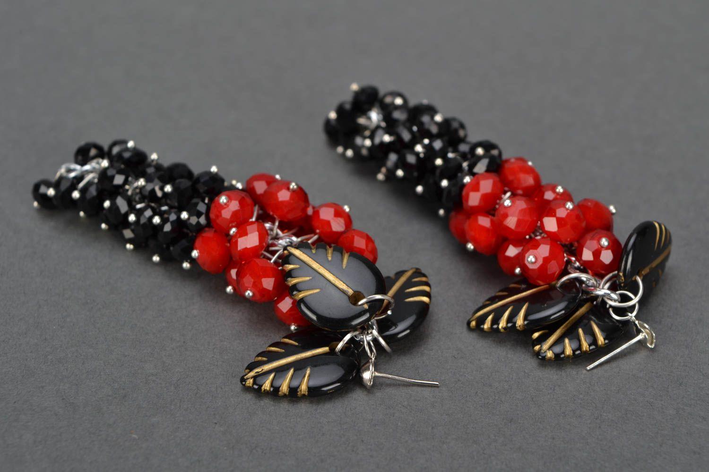 Lange Ohrringe handmade foto 4