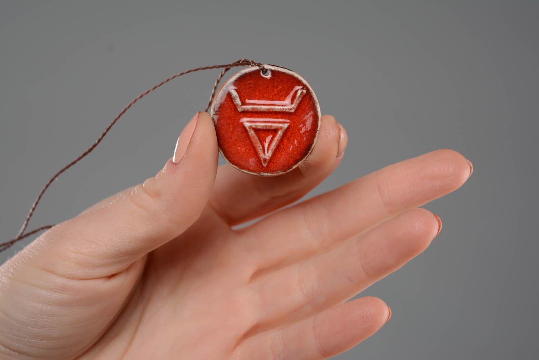 Neck Slavic amulet Veles photo 2