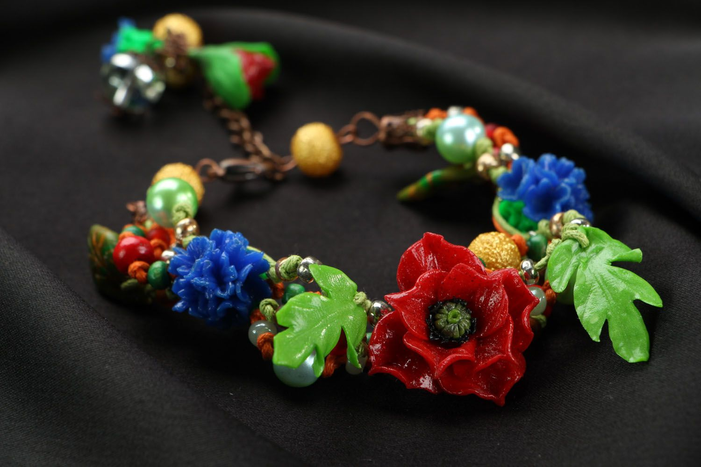 Designer plastic bracelet photo 3