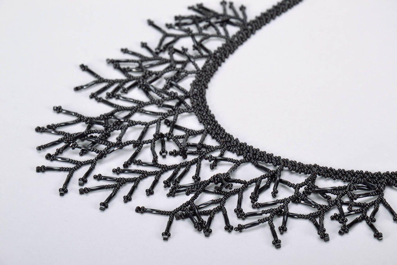 Homemade black necklet photo 4
