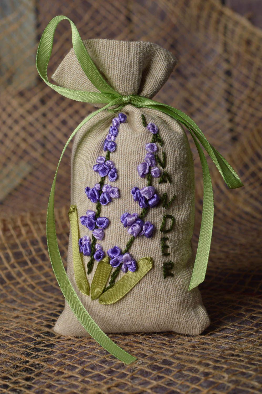 Handmade decor fabric bag for sachet embroidered bag decorative use only photo 1