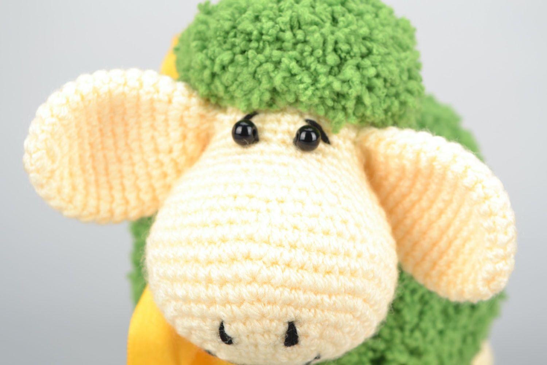 Вязание крючкомигрушка овечка 49
