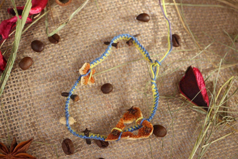 Thread bracelet Aroma photo 5